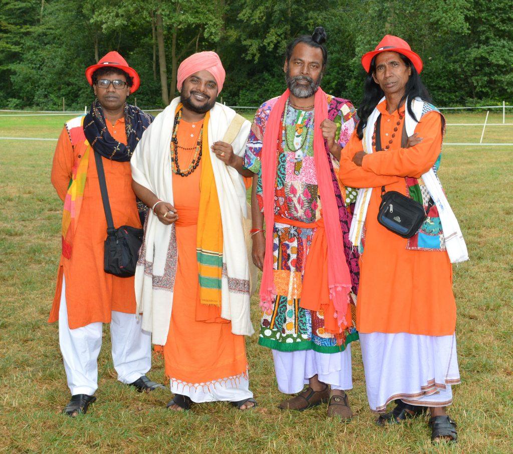 SIVO2019 - India Baul cultuur groepsfoto
