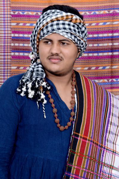 mini_Rajan Vankar - India in his traditional clothes