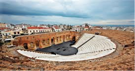 Place of festival in Patra